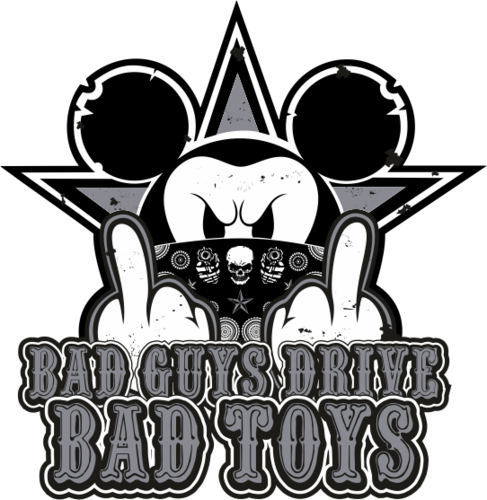 Mickey Stickerbomb Bad Toys